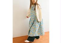 GARDEN CAMI DRESS / ワンピース / ブルー / 花柄 / キッズ / 女の子