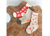 TRIPLE DESIGN SOCKS SET / 靴下 / 3足セット / ベビー / 男の子 / 女の子