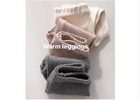 warm leggings / レギンス / ホワイト / グレー / ピンク / キッズ  / 男の子 / 女の子