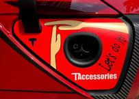 充電ポートステッカー T pause (model3)