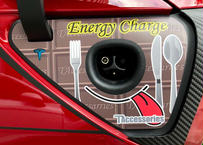 充電ポートステッカー energy charge (model3)
