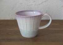 A8 色彩結晶釉マグカップ 紫