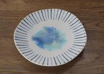 A33 青い池 皿
