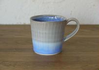 A1 色彩結晶釉マグカップ small 茶グレー