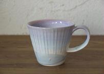 A9 色彩結晶釉マグカップ 紫
