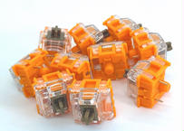 TTC Gold Brown V3 タクタイルキースイッチ(オレンジ/ブラウン/3ピン/タクタイル/55g/10個)