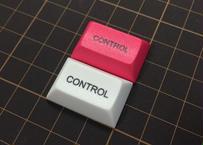 DSA PBT キーキャップ (1個/ 1.5U/CONTROL/ローズピンク/ホワイト)