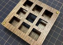 TALPKEYBOARD キースイッチテスター (3x3 /ウォルナットMDF)