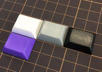 DSA ブランク キーキャップ (1Piece/1.25U/ホワイト/グレー/ブラック/パープル)