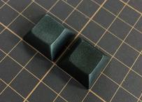 DSA PBT ブランク キーキャップ (ブラック/2個)