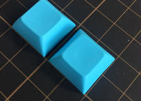 DSA PBT ブランク キーキャップ  (2Piece/Blue)
