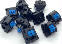 CHERRY MX BLUE キースイッチ(ブラック/3ピン/61.2g/クリッキー/10個)