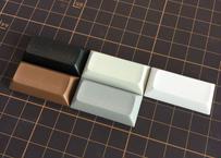 DSA PBT ブランク キーキャップ (1Piece/2U/ブラック/グレー/オフホワイト/ホワイト/76ブラウン/パープル/ライトイエロー)