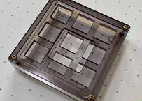 TALPKEYBOARD キースイッチテスター (3x3 /半透明グレー)