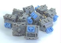 Gateron Limbo タクタイルキースイッチ(グレー/パープル/5ピン/タクタイル/65.5g/5個)