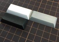 DSA PBT ブランク キーキャップ (1個/2.25U/ブラック/グレー/ホワイト)