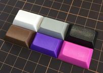 DSA PBT ブランク キーキャップ (1Piece/1.5U/ ホワイト/グレー/ブラック/76ブラウン/パープル/レッドパープル/ライトイエロー)