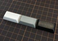DSA PBT ブランク キーキャップ (1Piece/1.75U/ブラック/グレー/ホワイト)