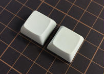 XDA PBT ブランク キーキャップ (2Pieces/OffWhite)
