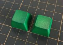 SA PBT ブランク キーキャップ (2Piece/ROW3/グリーン)
