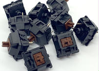 CHERRY MX BROWN キースイッチ(ブラック/3ピン/56g/タクタイル/10個)