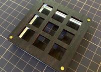 TALPKEYBOARD キースイッチテスター (3x3 / ローズウッドMDF)