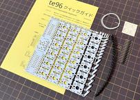 te96 狭ピッチ自作キーボード基板(マクロパッドセット)