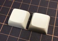 XDA  PBT ブランク キーキャップ(クリーム/2個)