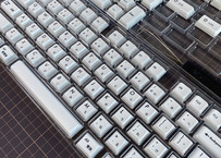 XDA White DyeSub PBT 108 カナ/繁体 キーキャップセット