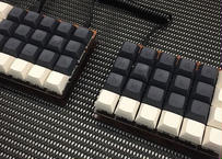 Let's Split キーボードキット (Walnut MDF Plate)