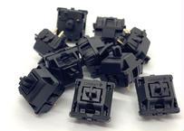 CHERRY MX BLACK キースイッチ(ブラック/3ピン/61.2g/リニア/10個)