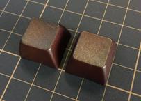SA PBT ブランク キーキャップ (2Piece/ROW3/ブラウン)