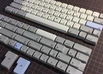 XDA PBT dye-sub 104 Keycap Set(Italic font/Gray)