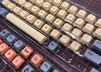 XDA Western world DyeSub PBT 68 キーキャップセット