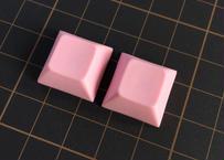 DSA PBT ブランク キーキャップ  (2Piece/Pink)