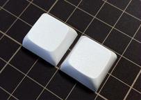 XDA  PBT ブランク キーキャップ(ホワイト/2個)