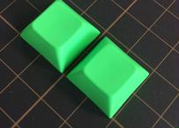 DSA PBT ブランク キーキャップ  (グリーン/2個)