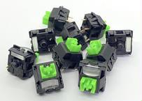 Razer Green SMD キースイッチ for BlackWidow Lite(ブラック/3ピン/50g/クリッキー/5個)