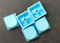 IDOBAO MA PBT ブランクキーキャップ(ブルー/2個)