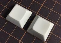DSA PBT ブランク キーキャップ (2Piece/Off White)