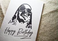 『Happy Birthday with SW』カード |活版印刷