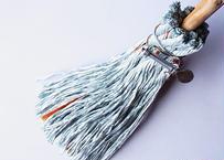 流木と汎用ロープのホウキ <小> d.灰