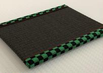 彩畳(市松模様:緑)