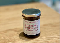 LONDON BOROUGH OF JAM / RASPBERRY & HIBISCUS FLOWER JAM