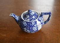 Burleigh Blue Calico Teapot S