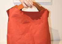 MARINEDAY MATEO LINEN  RED BAG