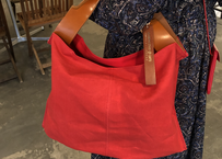 MARINEDAY MATEO LINEN  RED BAG
