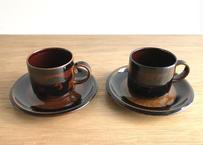 ARABIA コーヒーC&S 2客(SORAYA)