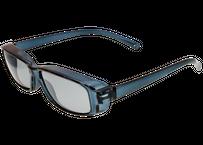 Zealot  スリム偏光機能性オーバーグラス  ネイビー偏光 (アウトレット品)