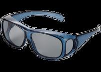 Zealot  明るい偏光機能性オーバーグラス  ネイビー偏光 (アウトレット品)